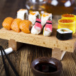 Sushi mix — Stock Photo