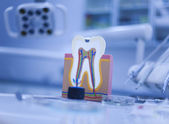 Dental tools — 图库照片