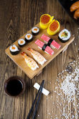 Board of sushi — Stock Photo
