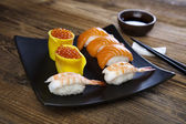 Traditional sushi — Stock Photo
