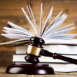 Gavel and books — Stock Photo #41648909