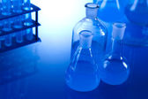 Test tubes for research — Stock Photo