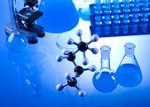 Laboratory glassware — ストック写真