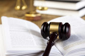 Gavel of judge — Stock Photo