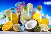 Exotic drinks — Stock Photo