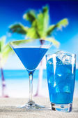 Blue Lagoon Cocktail — Foto de Stock