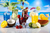 Exotic drinks — Stock Photo