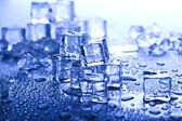 Cubos de gelo — Fotografia Stock