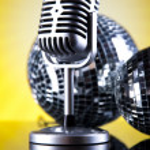 Retro microphone — Stock Photo #49102811