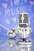 Retro Microphone — Foto Stock