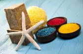 Spa, organic products — Stock Photo