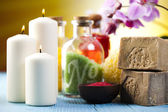 Spa, organic products — Stock Photo