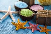 Sea salt and Spa — Stock Photo