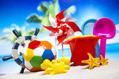 Toys for the beach — Stock Photo