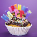 Happy birthday background — Stock Photo #7172886