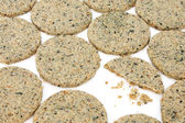 Laverbread Oatcakes — Stock Photo