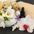 Floral Spa Treatment - Stock Photo