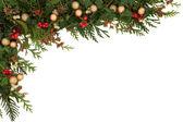 Confine festiva — Foto Stock