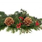 Christmas Decorative Display — Stock Photo