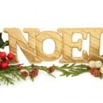Noel Glitter Decoration — Stock Photo #13360138