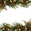 Christmas Border - Foto Stock