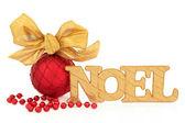 Noel Decoration — Stock Photo
