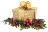 Christmas Gift Box — Foto Stock
