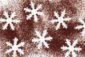 Snöflinga abstrakt — Stockfoto