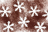 Snowflake Abstract — Stock Photo