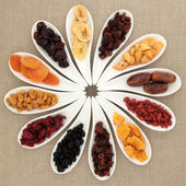 Dried Fruit Selection — Stock Photo