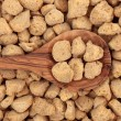 Soy Protein Chunks — Stock Photo #17942653