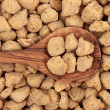 Soy Protein Chunks — Stock Photo