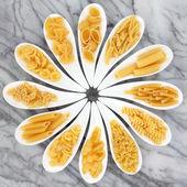 Collection de pâtes — Photo