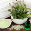 Herbal Spa Treatment — Stock Photo