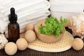 Dámské pláště lázeňská léčba — Stock fotografie