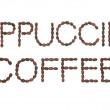 Cappuccino Coffee Sign — Stock Photo #18625179