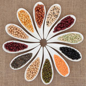 Pulses Selection — 图库照片