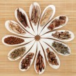 Chinese Herb Selection - Foto Stock
