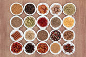 Spice and Herb Sampler — Stok fotoğraf