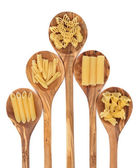 Pasta Varieties — Stock Photo
