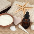 Stock Photo: Natural Skincare Products