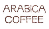 Arabica Coffee Sign — Stock Photo