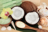Coconut Spa Treatment — Stock Photo