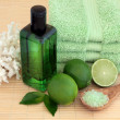 Lime Fruit Spa — Stock Photo #21208279