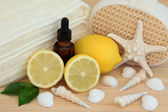 Lemon Spa Treatment — Stock Photo