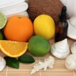 Tropical Fruit Spa — Stock Photo #22371365