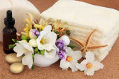 Flower Spa Treatment — Stock Photo