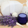 Lavender Herb Accessories - Stock Photo
