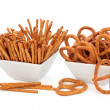 Royalty-Free Stock Photo: Pretzel Snacks