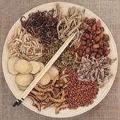 Chinese Herbal Mediicne — Stock Photo